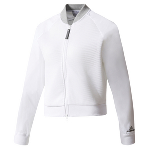 Women`s Stella McCartney Barricade Tennis Jacket Cream White
