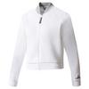 ADIDAS Women`s Stella McCartney Barricade Tennis Jacket Cream White