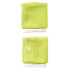 ADIDAS Women`s Stell McCartney Tennis Wristband Solar Yellow and White