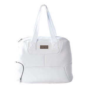 Women`s Stella McCartney Tennis Bag White and Clear