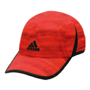 Men`s Adizero Extra Tennis Cap Scarlet and Collegiate Burgundy