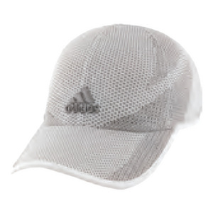 Men`s Adizero Prime Tennis Cap White and Gray
