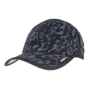 Women`s Adizero Extra Tennis Cap Black Ikat Zebra Print