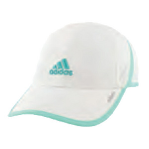 Women`s Adizero II Tennis Cap White and Easy Green