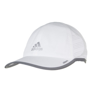 Men`s Adizero Extra Tennis Cap White and Reflective Silver