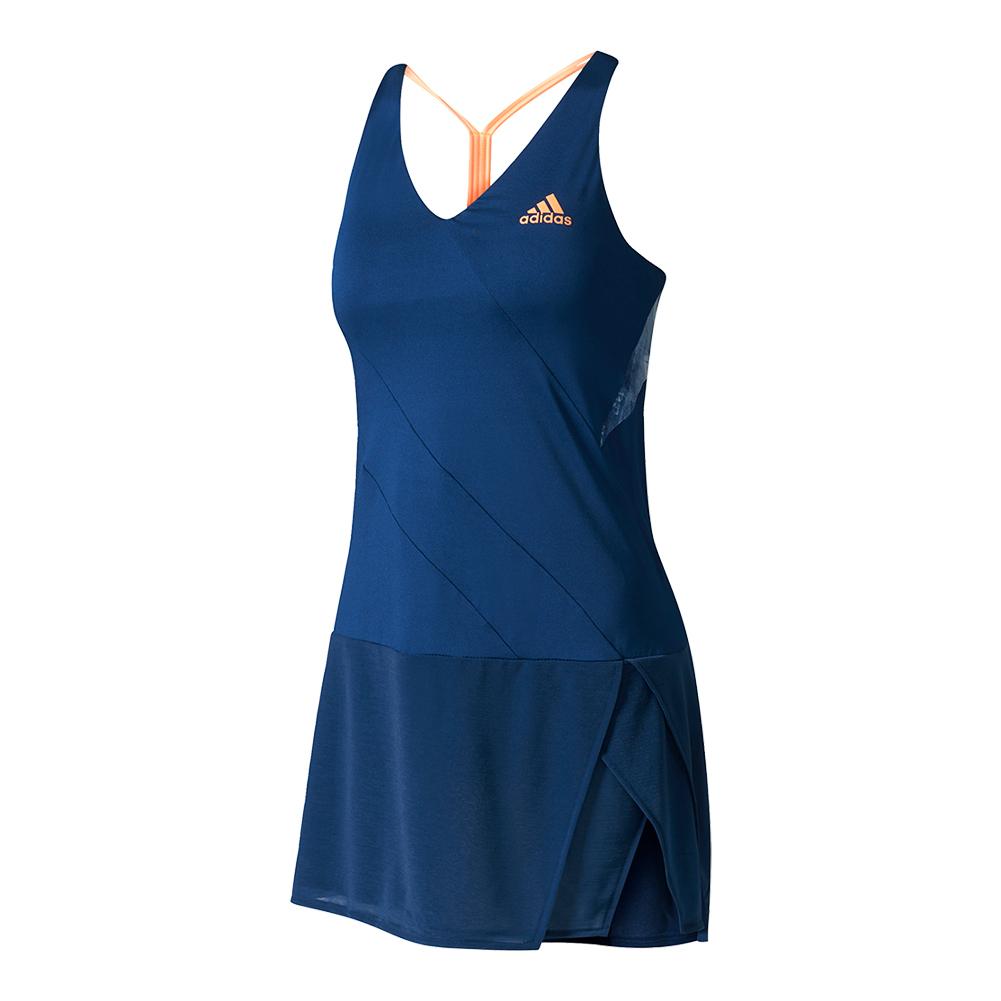 Women's Melbourne Tennis Dress Mystery Blue