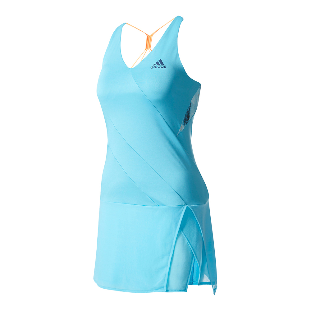 Women's Melbourne Tennis Dress Samba Blue