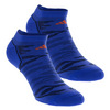 ADIDAS Men`s Superlite Prime Mesh No Show Tennis Socks 2 Pack Blue and Navy Size 6-12