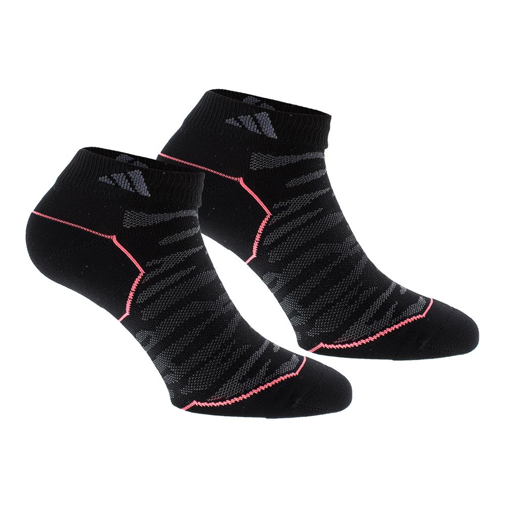 Women's Superlite Prime Mesh Low Cut Tennis Socks 2 Pack Black And Onix Sz 5- 10