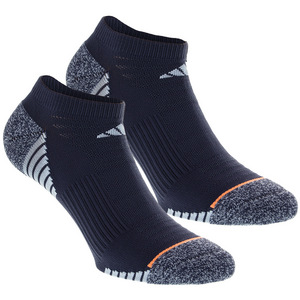 Women`s Superlite Speed Mesh No Show Socks 2 Pack Mid Gray and Easy Bl Size 5-10