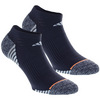 ADIDAS Women`s Superlite Speed Mesh No Show Socks 2 Pack Mid Gray and Easy Bl Size 5-10