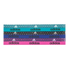 ADIDAS Fighter Graphic Hairband 6 Pack Crushed Dots and Shock Green