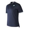 NEW BALANCE Men`s Tournament Henley Tennis Top Pigment