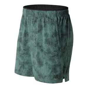 Men`s Printed Wovenn 2 In 1 Tennis Short Typhoon Print