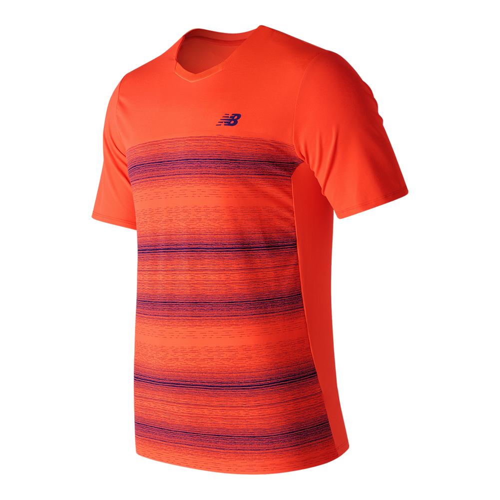 Men's Yarra Tennis Crew Alpha Orange