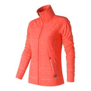 Women`s In Transit Tennis Jacket Sunrise Heather