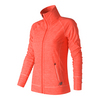 NEW BALANCE Women`s In Transit Tennis Jacket Sunrise Heather