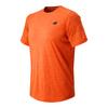 Men`s Short Sleeve Heather Tech Tennis Tee AOH_ALPH_ORANGE_HTHR
