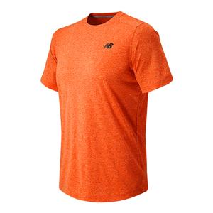 Men`s Short Sleeve Heather Tech Tennis Tee