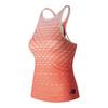 Women`s Richmond Tennis Tank SRE_SUNRISE/WHITE