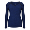 TAIL Women`s Ava Long Sleeve Tennis Top Twilight Space Dye