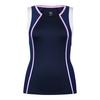 TAIL Women`s Sienna Tennis Tank Navy Blue