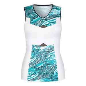 Women`s Lucy Tennis Tank Quartz
