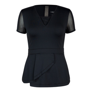 Women`s Dottie Tennis Top Black