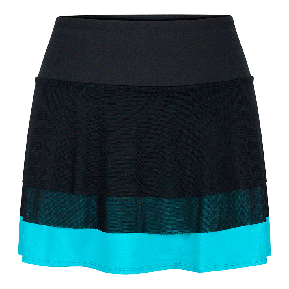 Women's Shannon 14.5 Inch Tennis Skort Black And Antigua
