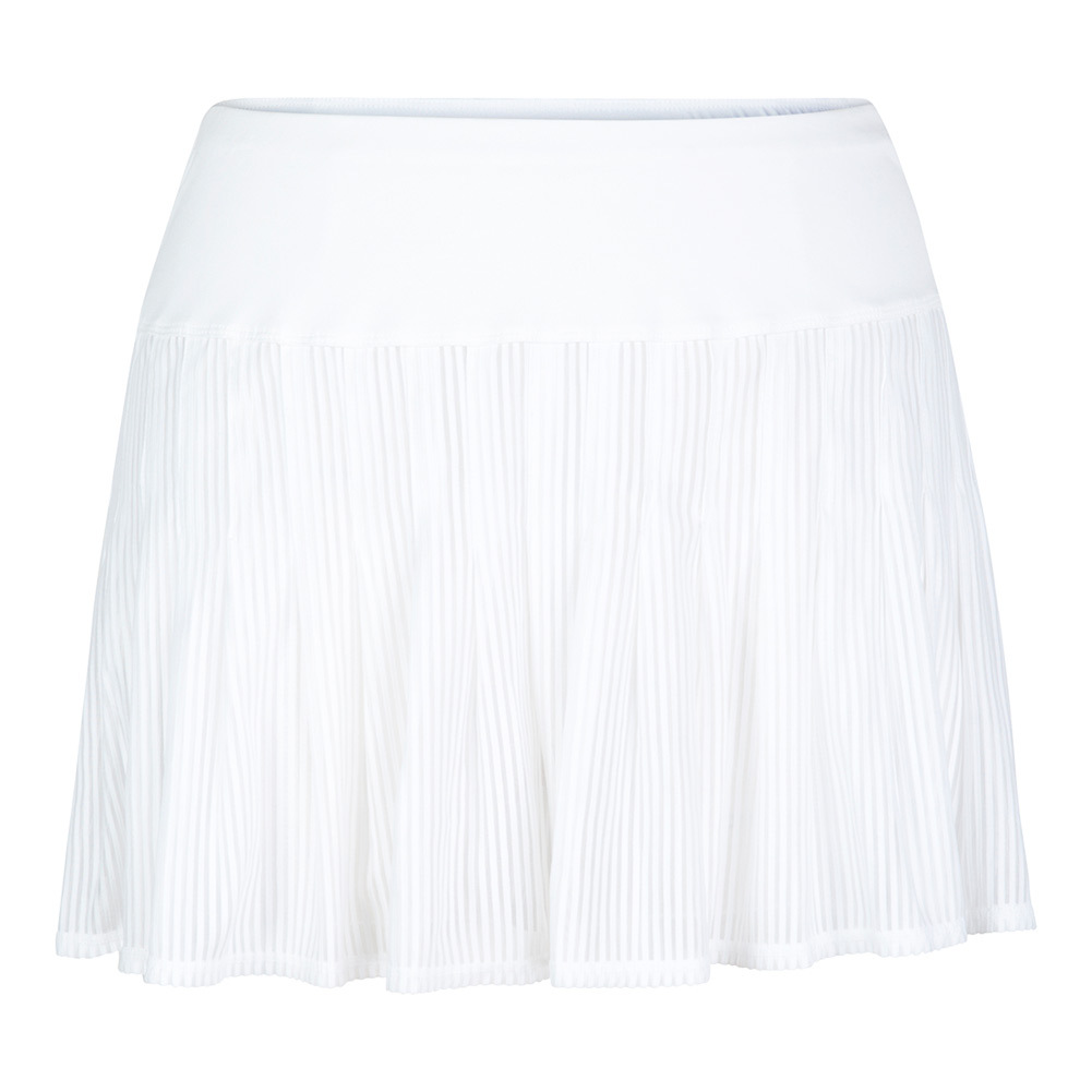 Women's Evelyn 13.5 Inch Tennis Skort White