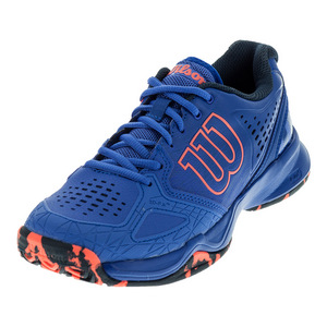 Women`s Kaos Comp Tennis Shoes Amparo Blue and Surf the Web