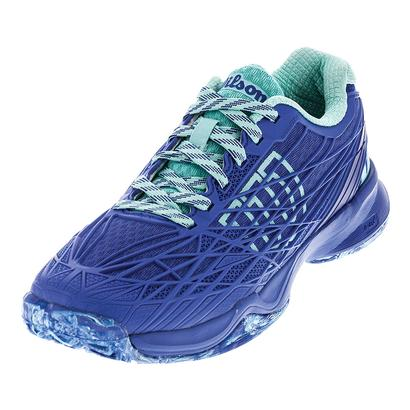 Women`s Kaos Tennis Shoes Amparo Blue and Surf the Web