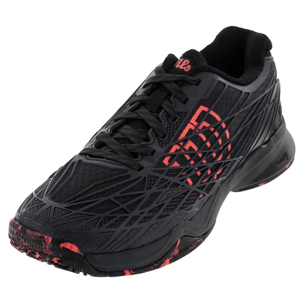 Men's Kaos Tennis Shoes Ebony And Black