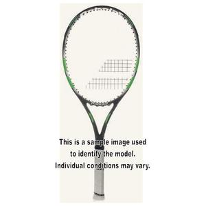 FLOW LITE USED TENNIS RACQUET GRAY/GREEN 4_3/8