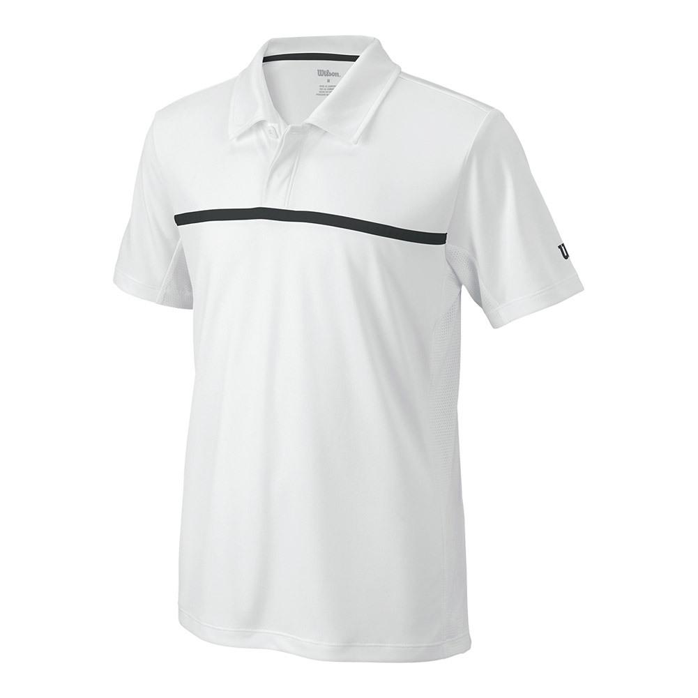 Boys ` Team Tennis Polo White