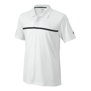 Boys` Team Tennis Polo White