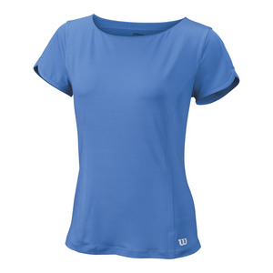 Women`s Star Crossover Cap Sleeve Tennis Top Regatta