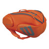 WILSON Burn 9 Pack Tennis Bag Orange and Gray