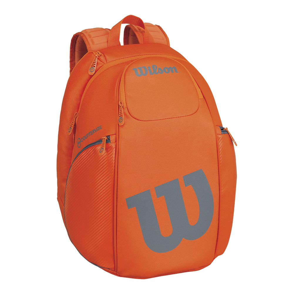 Burn Tennis Backpack Orange And Gray