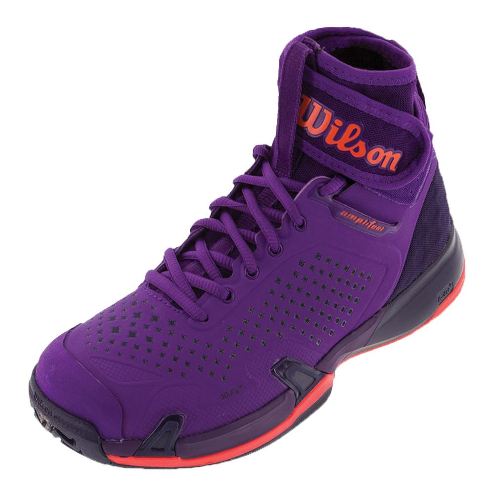 Women's Amplifeel All Court Tennis Shoes Tillandsia Purple And Evening Blue