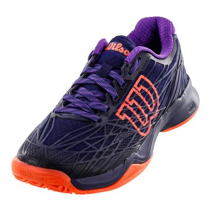Women`s Kaos Tennis Shoes Astral Aura and Evening Blue