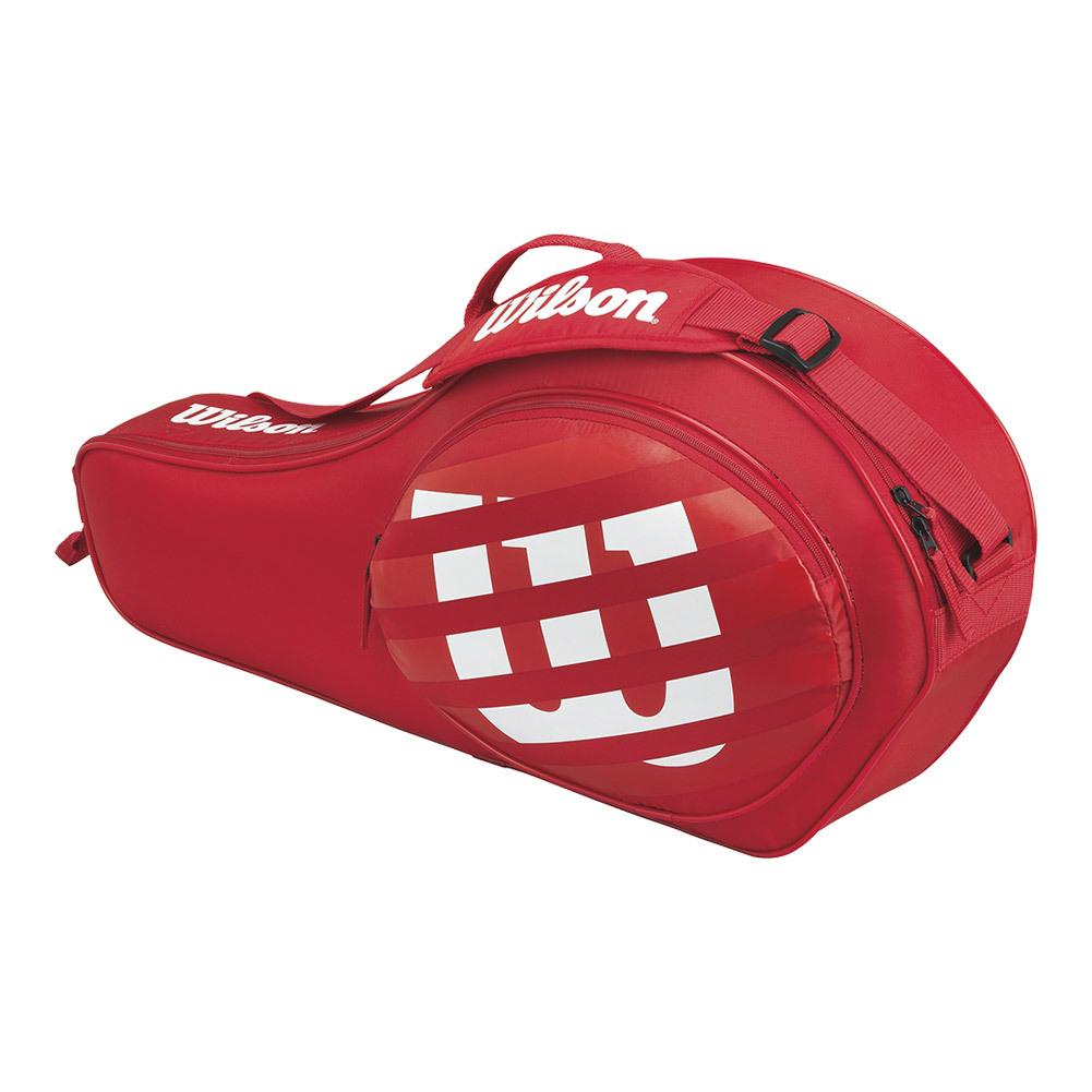 Match Junior 3 Pack Tennis Bag Red