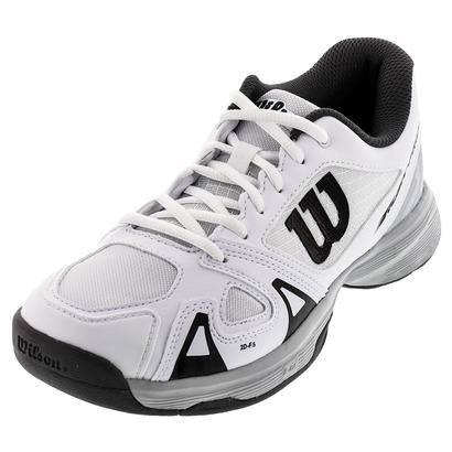 Juniors` Rush Pro 2.5 Tennis Shoes White and Pearl Blue