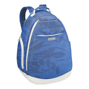 Women`s Tennis Backpack Blue Print