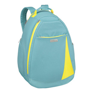Women`s Tennis Backpack Blue and Yellow