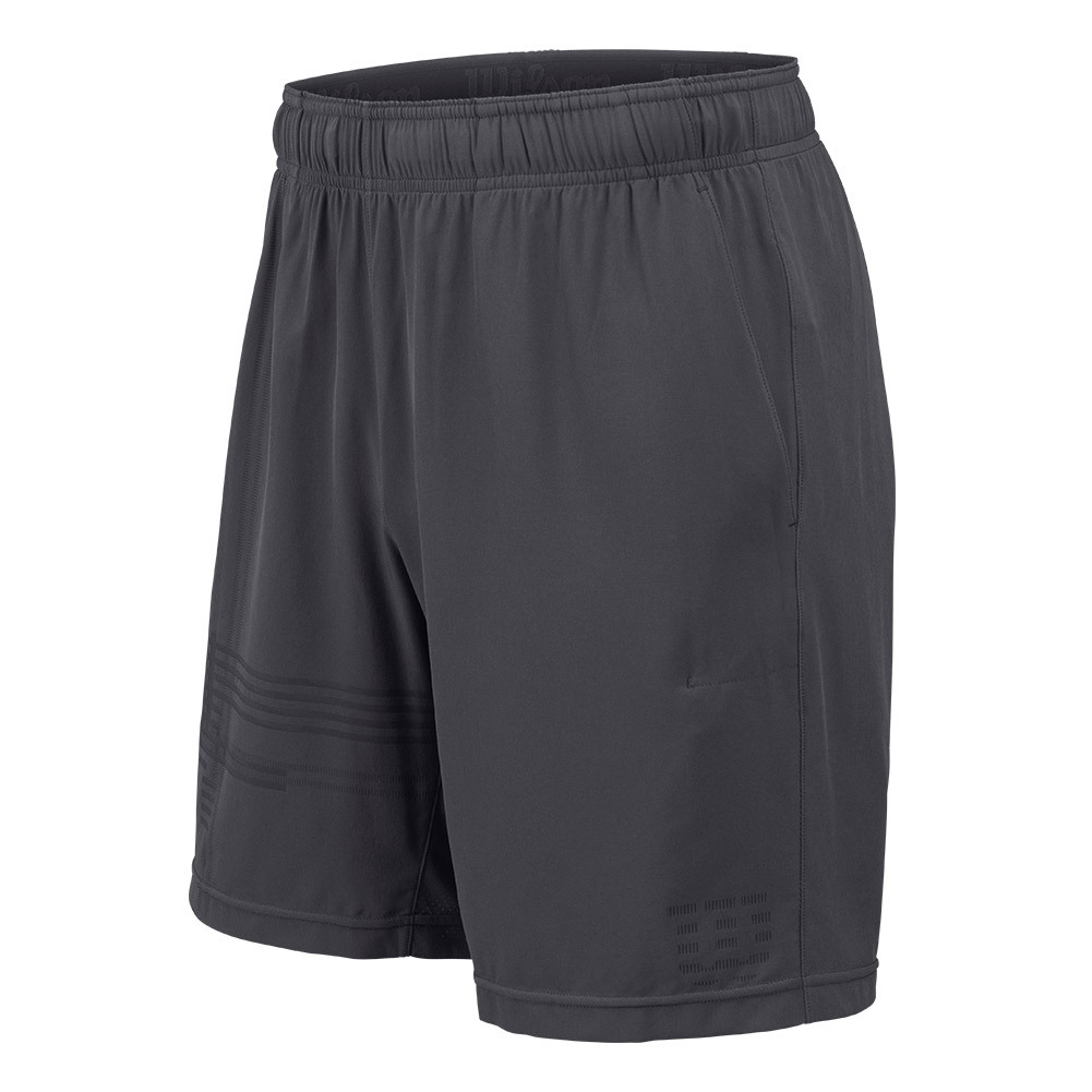 Men's Ls Laser 8 Inch Tennis Short Ebony