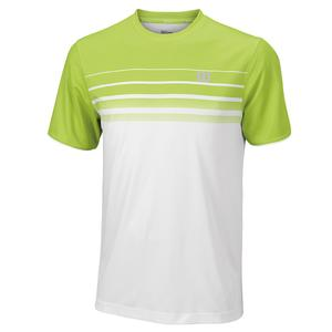 Men`s Spring Striped Tennis Crew
