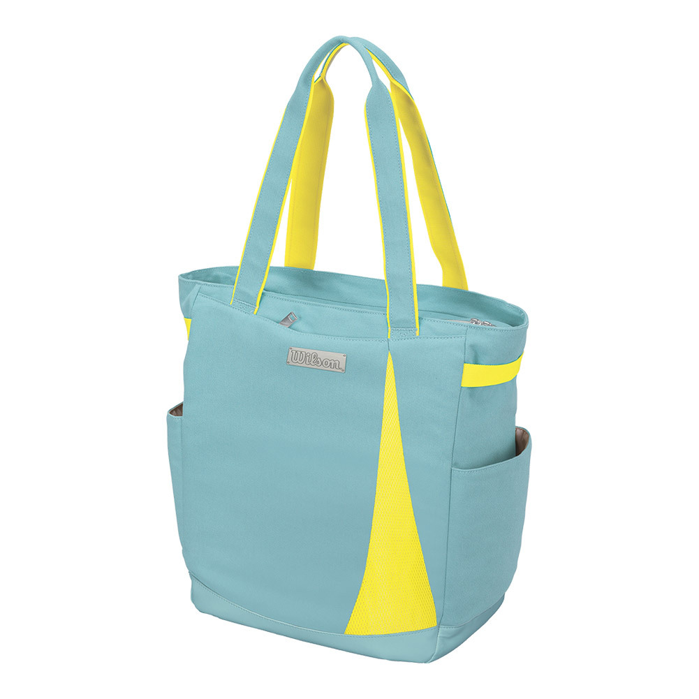 Women's Tennis Tote Blue And Yellow
