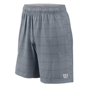 Men`s Star Plaid 9 Inch Tennis Short Tradewinds and Turbulence
