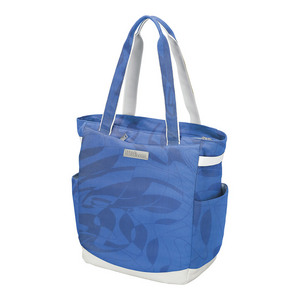 Women`s Tennis Tote Blue Print